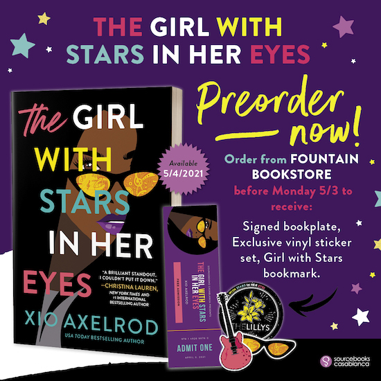 Girl With The Stars In Her Eyes Preorder Banner