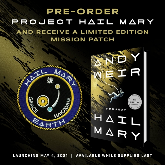 Hail Mary preorder banner
