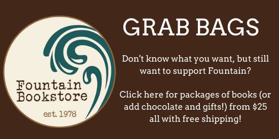 banner ad for grab bags of books