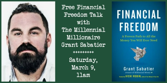 Free Financial Freedom Talk with Millennial Millionaire Grant