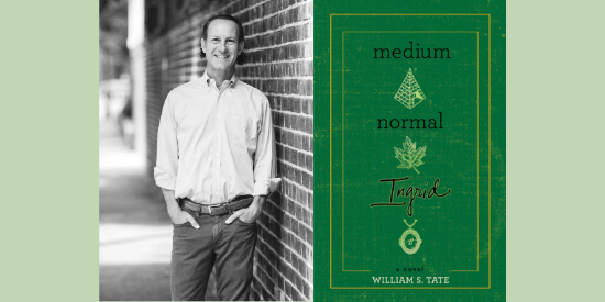Celebrate the release of William Tate's debut on Tuesday, 9/29 at 6PM on Zoom!